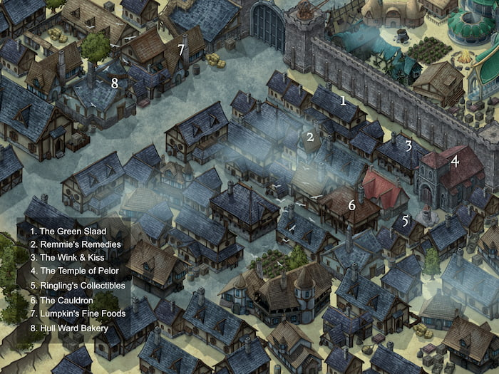 Hull Ward: A Setting For Dungeons & Dragons And Other RPGs